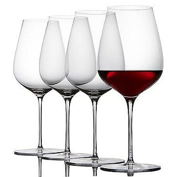 Fusion Air Bordeaux Wine Glasses