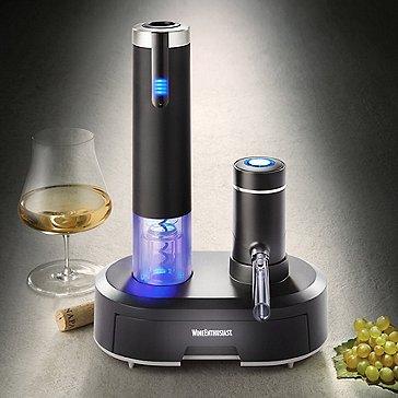 Blue Omega Wine Dispenser Preserver
