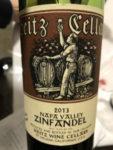 A Fine Zinfandel Wine
