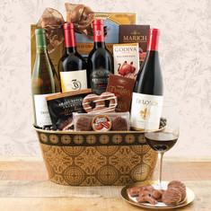 Wine Fruit Gift Baskets California Wine Quarter