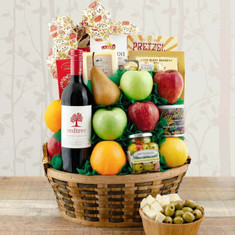 Wine Fruit Gift Baskets CEO Fruit Cab Sauvignon