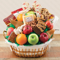 Wine Fruit Gift Baskets Cream of the Crop