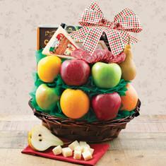 Wine Fruit Gift Baskets Dolce Vita Fruit Basket