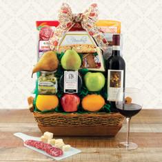 Wine fruit Gift Baskets Festa Italiana