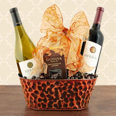 Wine  Fruit Gift Baskets Herzog Special Reserve Wine Duo