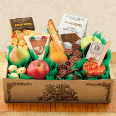 Wine Fruit Gift Baskets Italian Pride of the Farm