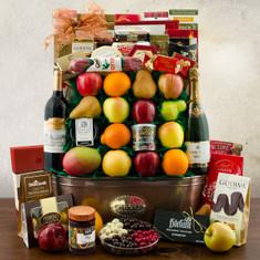 Wine Fruit Gift Basket Kings Ransom
