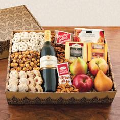 Wine fruit, Gift Basket Magnificent Merlot