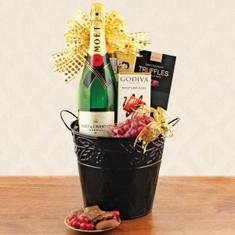 Wine Fruit Gift Baskets Moet & Chandon