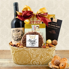 Wine Fruit Gift Baskets Red Wine Gift