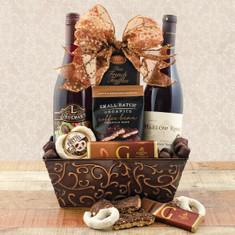 Wine Gift Baskets Pinot Duo