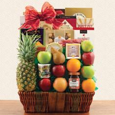 Wine Fruit Gift Basket Premier Fruit Gift Basket