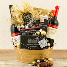 Wine Fruit Gift Baskets Shiloh Red Wine