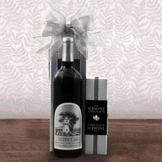 Wine Fruit Gift Baskets Silver Oak Alexander Valley Cab Sauv Wine Box