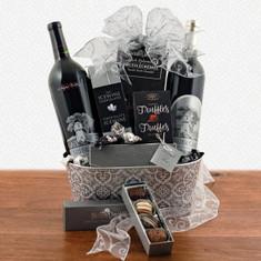 Wine Fruit Gift Baskets Silver Oak Duo Wine Gift Baskets