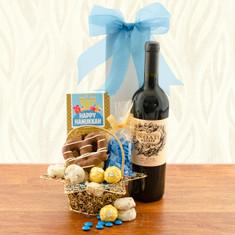 Wine Fruit Gift Baskets Star of David Hanukkah Wine