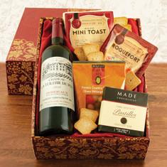 Wine Fruit Gift Baskets Taste of France Red Wine