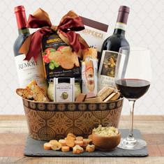 Wine Fruit Gift Baskets Tuscany Italian Wine