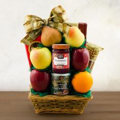 Wine Fruit Gift Basket Tel Aviv Fruit & Kosher