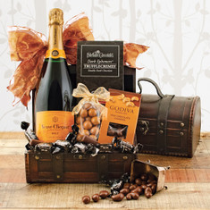 Wine Fruit Gift Baskets Veuve Clicquot