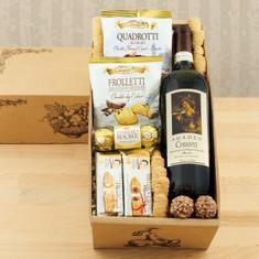 Wine Fruit Gift Baskets Vino Italiano Red wine