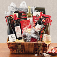 Wine Fruit Gift Baskets Wines of the World